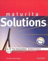 Maturita Solutions Pre-Intermediate Student´s Book with MultiROM Czech Edition - Tim Falla