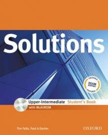 Solutions Upper Intermediate Student´s Book + CD-ROM International Edition - Tim Falla