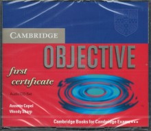 Cambridge Objective first certificate Audio CD Set (3) - Annete Capel