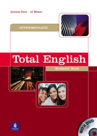 Total English Intermediate Students Book + DVD - Antonia Clare