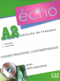 Écho Nouvelle version A2 Cahier personnel d'apprentissage + CD audio + corrigés - Jacky Girardet